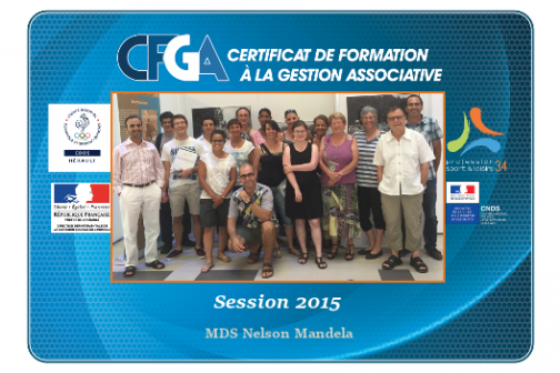 Formation CFGA - Session 2015