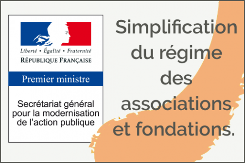 Simplification du régime des associations