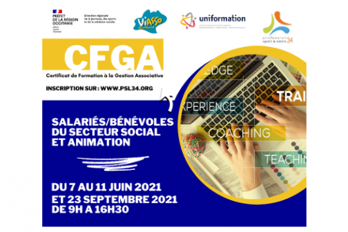 Certificat de Formation à la Gestion Associative - secteur SOCIAL - ANIMATION - SALARIES